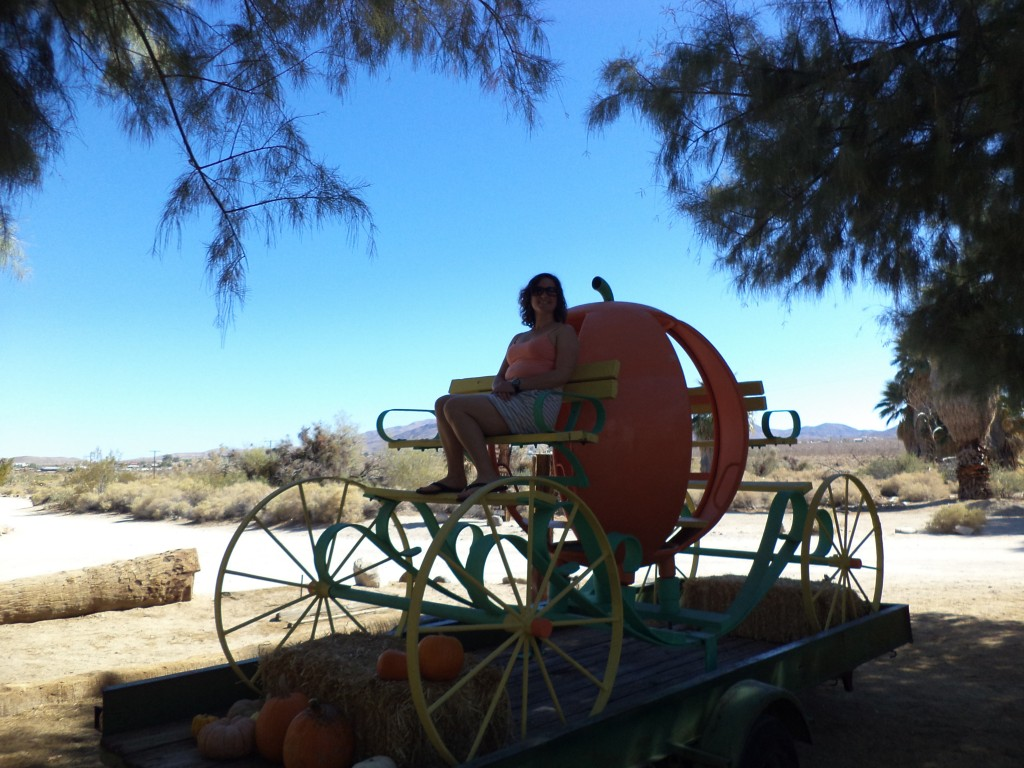29 Palms Inn Pumpkin Carriage